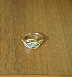 Золотое кольцо. 16.5 размер.