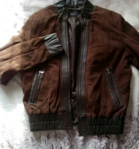 Куртка из нат замши