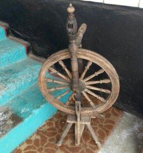 Прялка для декора старинная
