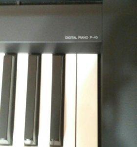 Цифровое пианино Yamaha p 45