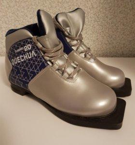 Лыжные ботинки новые.