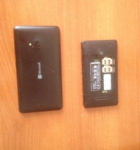 Продаются два телефона на запчасти Microsoft Lumia