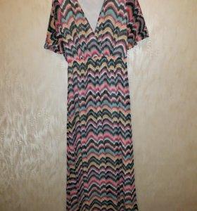 Яркое летнее платье Koton. Размер 44-46