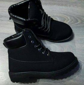 Ботинки зимние ( новые )
