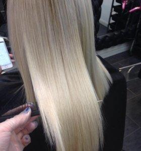 Кератиновое выпрямление волос/ Ботокс для волос