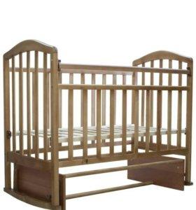Кроватка с матрасом ТМ Аскона