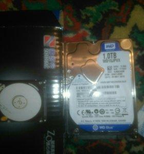 Внутренний жесткий диск для ноутбуков