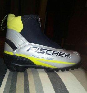 Лыжные ботинки 34 размер FISCHER sprint