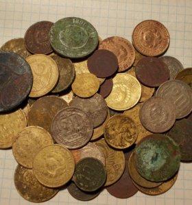 Монеты до 61г