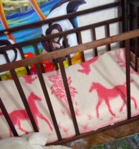 Кровать детская отдам