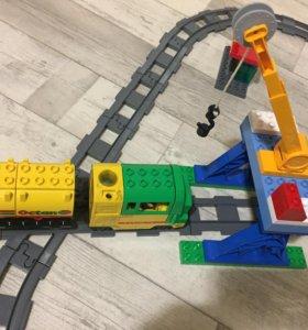 Лего дупло Поезд большой