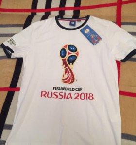 Футболка с символикой ЧМ 2018