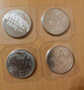 Монеты олимпиада в Сочи