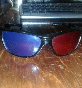 3D очки анаглиф