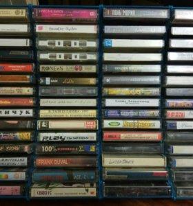Аудиокассеты с зап.80-90х