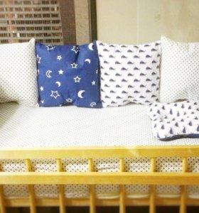 Комплект в кроватку на заказ