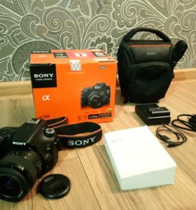 Фотоаппарат зеркальный Sony Alpha A- 58 Kit