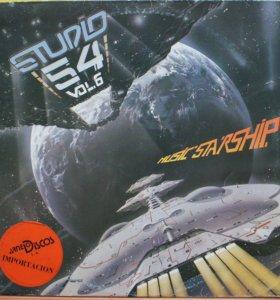 Диско, DISCO, STUDIO 54, виниловая пластинка