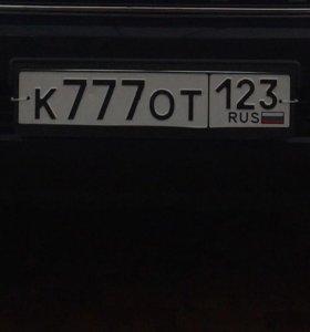 Гос номер К777ОТ123