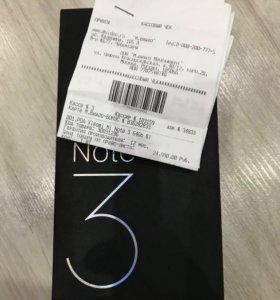 Xiaomi Mi Note 3 64Gb Новый РСТ