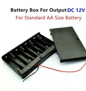 Бокс для батареек или аккумуляторов типа аа