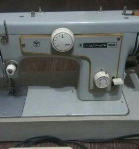 Швейная машинка Подольск-132 с электроприводом