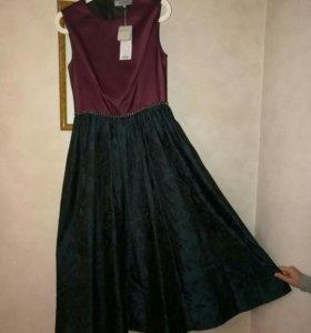 Новое коктейльное платье, размер 44