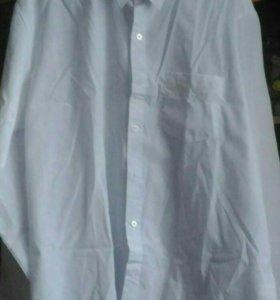 Рубашка белая мужская