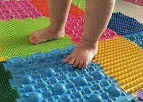 Ортопедический массажный коврик для детей