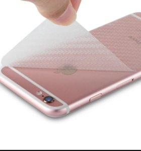 Пленка ,,карбон,, для. IPhone 6, 6s