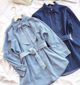 Новая джинсовая туника  👍