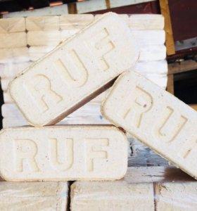Брикеты для отопления ruf. Доставка со склада