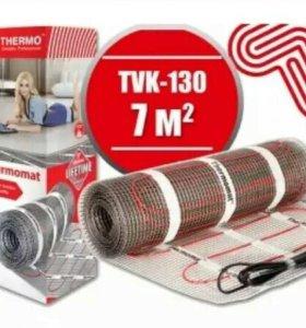 Нагревательный мат THERMO Thermomat tvk-130 7квм