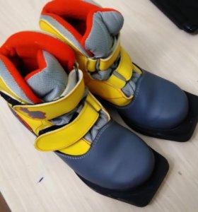 Лыжные ботинки, 34 размер