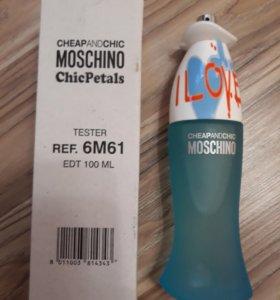 MOSCHINO I LOVE LOVE 100 ml Tester Original