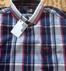 Новая муж рубашка Moschino