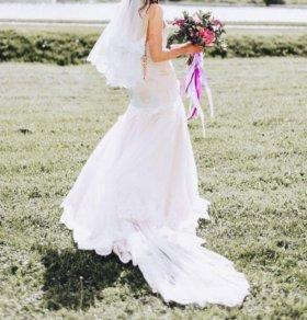 Свадебное платье русалка (рыбка)
