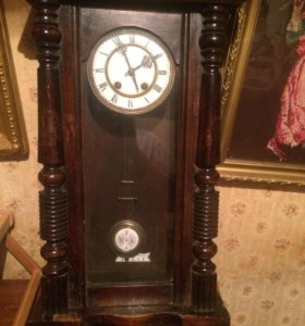 Часы старинные настенные Carl Werner☝🏼скидка