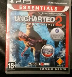 uncharted 2 для ps 3