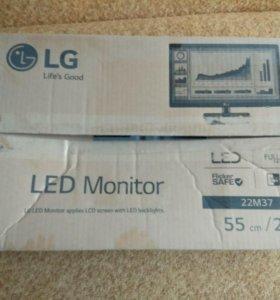 Продаю монитор LG-22M37A-В