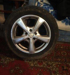 Литые диски R16 стояли на форде фокусе