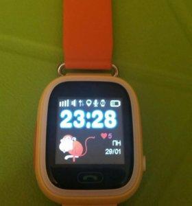 Новые Детские часы smart baby watch Q80