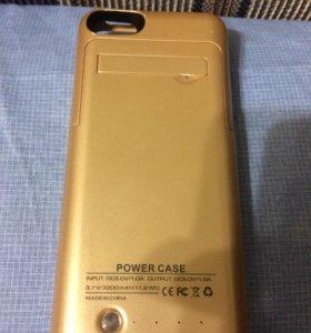 Чехол-зарядка для IPhone 5s