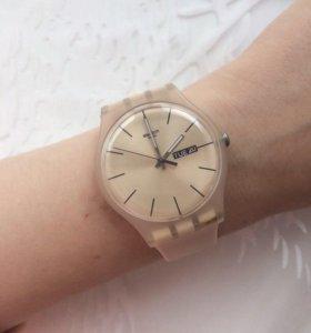 Часы Swatch (rose rebel)