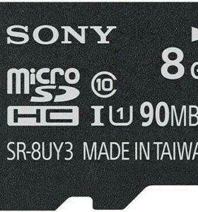 Sony SR-8UY3A microSDHC 8Gb Class 10 UHS U1