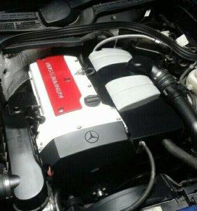 Двигатель на Мерседес М111- компрессор