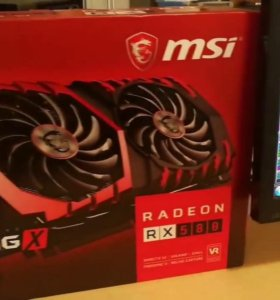 Msi Rx 580 Gaming X 8GB