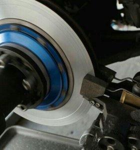 Расточка тормозных дисков не снимая с авто