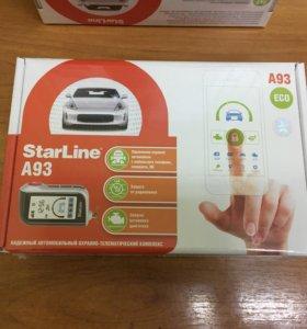 Продам сигнализацию с автозапуском StarLine A93