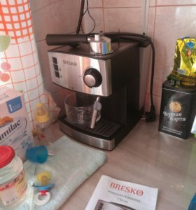 Кофемашина с капучинатором.
